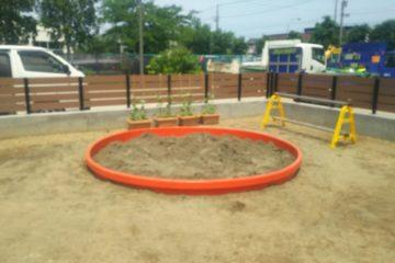 幼稚園 砂場①