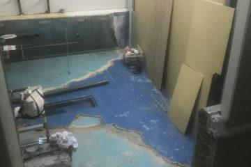 水族館改修防水工事