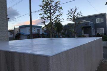 車庫屋根FRP防水